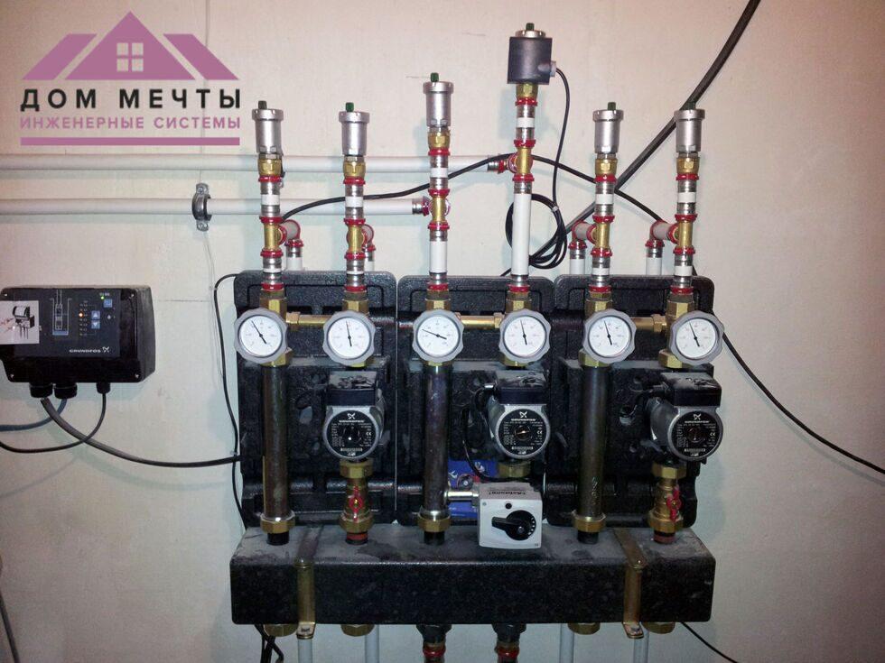 Монтаж систем отопления и водоснабжения белгород